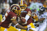 NFL Playoffs 2013: Seahawks vs Redskins - Robert Griffin III and Alfred Morris