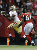 NFL Playoffs 2013: Falcons vs 49ers - Vernon Davis