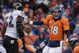 NFL Playoffs 2013: Ravens vs Broncos - Peyton Manning