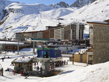 Chair Lift  Tignes  Savoie  Rhone-Alpes  French Alps  France  Europe