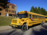 School Bus  St Joseph  Missouri  Midwest  United States of America  North America