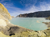 Kawah Ijen and its Turquoise Acid Crater Lake  Java  Indonesia  Southeast Asia  Asia