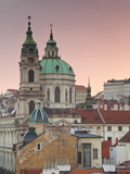 St Nicholas Church  Prague  Czech Republic  Europe