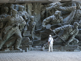 Sculpture  National Museum of the History of the Great Patriotic War 1941-1945  Kiev  Ukraine