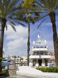 Atlantis Marina on Paradise Island  Nassau City  New Providence Island  Bahamas  West Indies