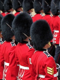 Soldiers at Trooping Colour 2012  Queen&#39;s Official Birthday Parade  Horse Guards  London  England
