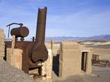 Harmony Borax Works  Death Valley National Park  California  USA  North America