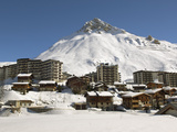 Alpine Ski Resort  Tignes-Le-Lac  Tignes  Savoie  Rhone-Alpes  French Alps  France  Europe