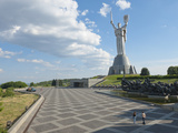 Rodina Mat (The Motherland Monument) and Nat'l Museum of History of Great Patriotic War  Ukraine