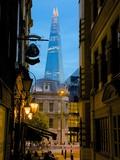 The Shard from City of London  London  England  United Kingdom  Europe