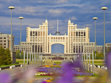 Kazmunaigas Building  Home to Oil and Gas Ministry  Astana  Kazakhstan