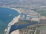 Aerial Photo of Ventura Marina  Ventura  California  United States of America  North America