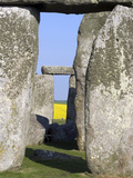Standing Stone Circle of Stonehenge  3000-2000BC  UNESCO World Heritage Site  Wiltshire  England