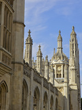 Kings College Chapel  University of Cambridge  Cambridge  England