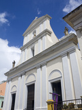 Cathedral of San Juan  Puerto Rico Island  West Indies  Caribbean  USA  Central America