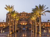 Emirates Palace Hotel  Abu Dhabi  United Arab Emirates  Middle East