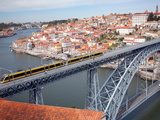 The Dom Luis 1 Bridge over River Douro  Porto (Oporto)  Portugal