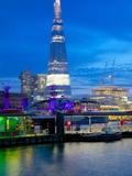 The Shard from City of London  London  England  United Kingdom  Europe
