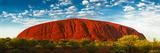 Uluru (Ayers Rock)  Uluru-Kata Tjuta Nat'l Park  UNESCO World Heritage Site  Australia