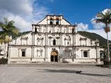 Cathedral in San Juan La Laguna  Guatemala  Central America