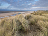 A Spring Evening at Holkham Bay  Norfolk  England