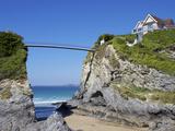 Towan Beach  Newquay  Cornwall  England  United Kingdom  Europe