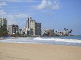 Beach  Isla Verde  San Juan  Puerto Rico  West Indies  Caribbean  USA  Central America