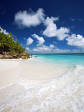 Tropical Beach  Seychelles  Indian Ocean  Africa