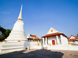 Wat Mani Chonlakhan  a Buddhist Temple in Lop Buri  Thailand  Southeast Asia  Asia