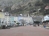 Seaside Promenade  Llandudno  Conwy County  North Wales  Wales  United Kingdom  Europe