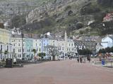 Seaside Promenade  Llandudno  Conwy County  North Wales  Wales  United Kingdom  Europe