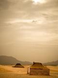 Traditional Bedouin Tents in the Sahara Desert  Near Zagora  Merzouga  Morocco  North Africa