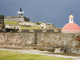Castillo San Felipe del Morro  Old City of San Juan  Puerto Rico Island  West Indies  USA