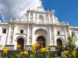 Cathedral of St Joseph  Antigua  UNESCO World Heritage Site  Guatemala  Central America