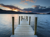 Ashness Jetty  Barrow Bay  Derwent Water  Keswick  Lake District Nat'l Park  Cumbria  England