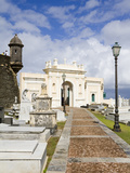 Santa Maria Magdalena Cemetery  Old City of San Juan  Puerto Rico Island  West Indies  USA