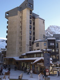 Apartment Blocks in Val Claret  Highest Village in Tignes  Savoie  Rhone-Alpes  French Alps  France