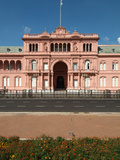 Casa Rosada (The Pink House)  Office and Executive Mansion of President  Buenos Aires  Argentina