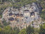 Lycian Tombs of Dalyan  Dalyan  Anatolia  Turkey  Asia Minor  Eurasia