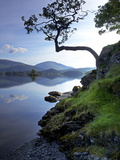 Derwent Water  Lake District National Park  Cumbria  England  United Kingdom  Europe