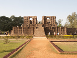 Konarak Sun Temple Dating from 13th Century  South Side  UNESCO World Heritage Site  Konarak  India