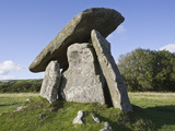 Trevethy Quoit  Bodmin Moor  Cornwall  England  United Kingdom  Europe