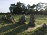 Rollright Stones  Dating from around 2500BC  on Oxfordshire Warwickshire Border  England