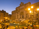 Trevi Fountain  Rome  Lazio  Italy  Europe