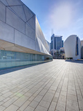 Exterior of the New Herta and Paul Amir Building of the Tel Aviv Museum of Art  Tel Aviv  Israel
