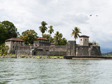 Castillo de San Felipe  Lake Izabal (Lago de Izabal)  Guatemala  Central America