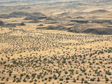 Aerial View of Damaraland  Kaokoland Wilderness in Nw Region  Namibia  Africa