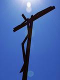 Giant Crucifix  Fatima  Portugal  Europe