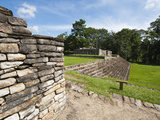 Mayan Ruins at Quirigua Archaeological Park  UNESCO World Heritage Site  Guatemala  Central America