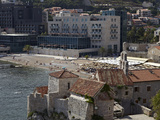 The Old Walled Town of Budva  Montenegro  Europe